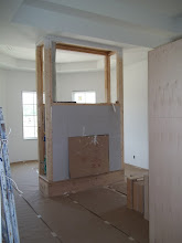 Photo: Bedroom fireplace rough-in