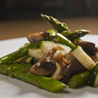 Mushroom and Asparagus Salad.