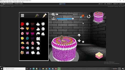 Cake icing real 3d cake maker  captures d'écran 1