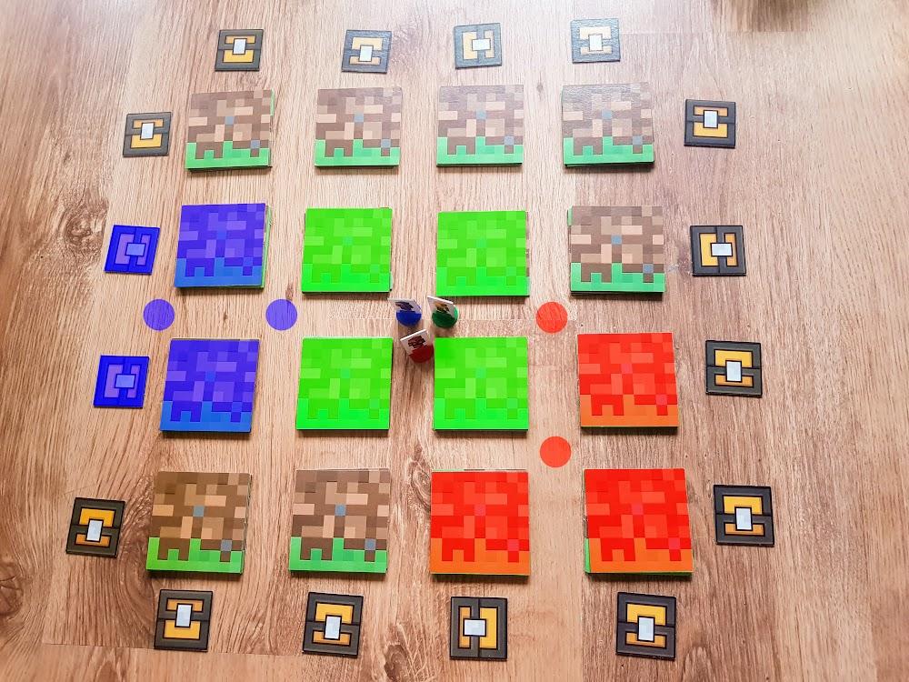 Minecraft - możliwe ruchy graczy