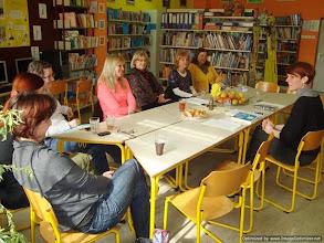 Photo: Bibliopreventivna delavnica za strokovne delavce Osnovne šole in vrtca Selnica ob Dravi. (Foto Manja Kokalj, Ladislava Milošević)