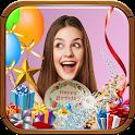 Stickers de cumpleaños para fotos icon