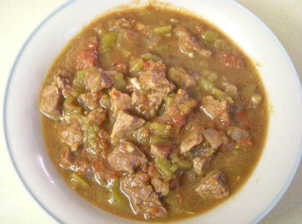 Crock Pot Green Chili