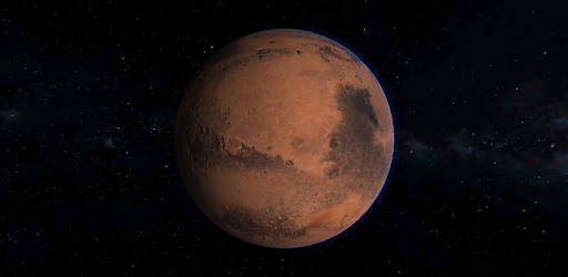 Mars 3D Live Wallpaper app for Android screenshot