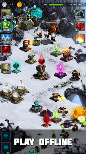 Ancient Planet Tower Defense Offline 1.1.52 screenshots 2