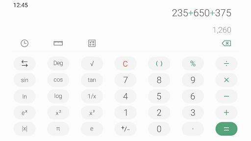 Samsung Calculator 6.0.63.9 screenshots 3