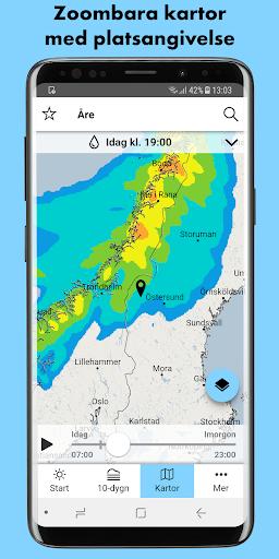 SMHI Vu00e4der 3.0.16 screenshots 5