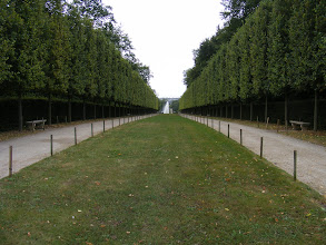 Photo: Outside again, and walking the Allée de la Duchesse to one of the park's main attractions.