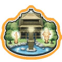 資材採集 光輝の神殿で資材を集める