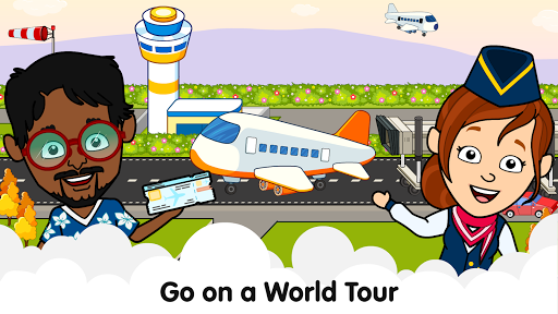My Airport Town: Kids City Airplane Games for Free Apk 1