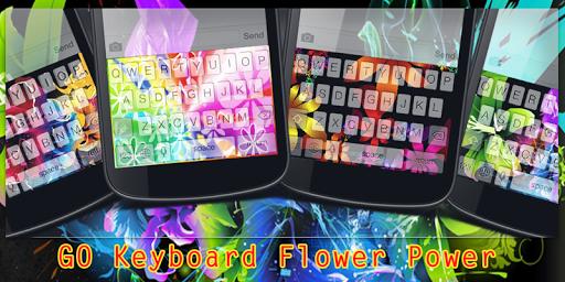 GO Keyboard Flower Power