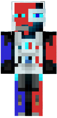 this skin is all about the new year geting futuristic
