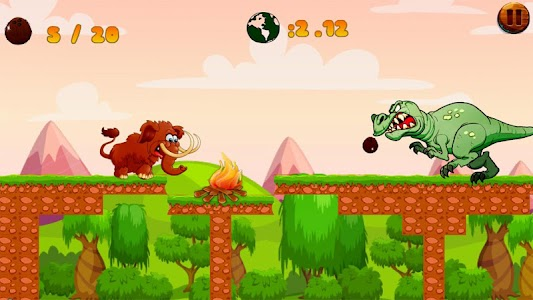 Jungle Mammoth Run screenshot 1
