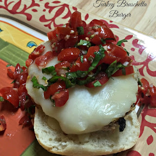 Bruschetta Turkey Burger