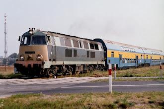 Photo: SU45-129, Toruń - Malbork {szlak Toruń Wschodni - Ostaszewo Toruńskie; 2002-09-04}