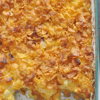 Corn Flakes Potato Casserole.