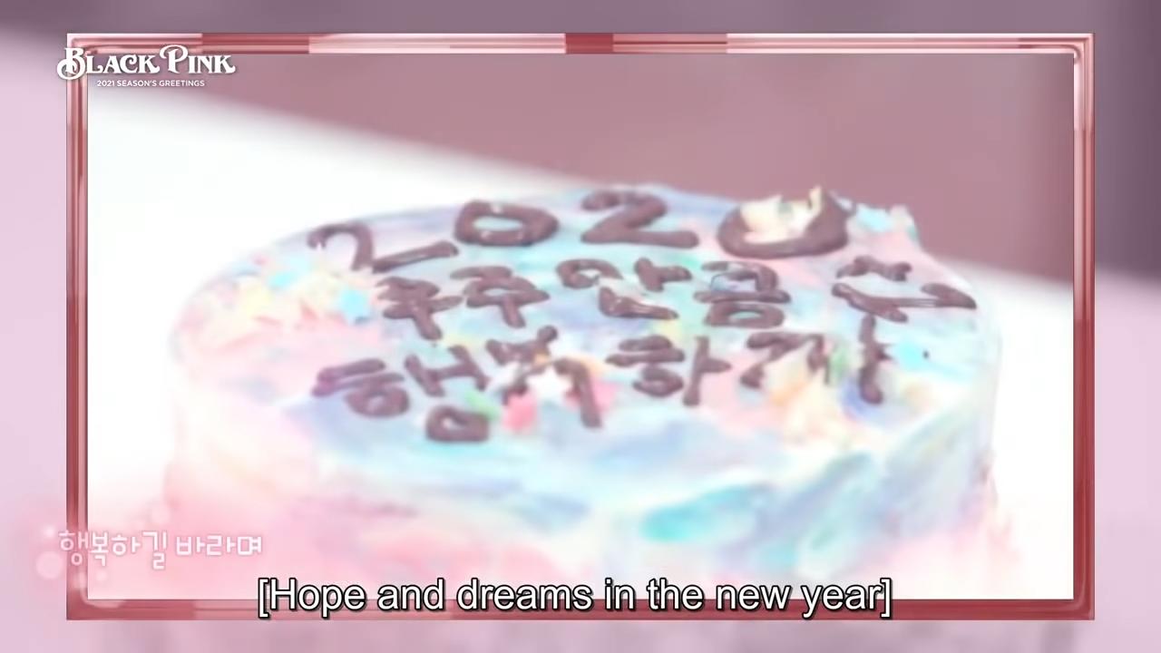 (eng sub)BLACKPINK SEASONS GREETINGS 2021 PART 2 full video 13-35 screenshot