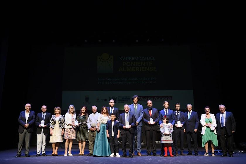 XV Premios Poniente