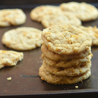 Peanut Butter Corn Flakes Cookies.