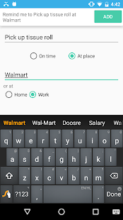 Assistant for Google Reminders - náhled