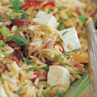 Orzo with Roasted Vegetables.