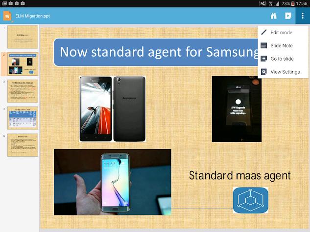 MaaS360 Secure Editor Screenshot