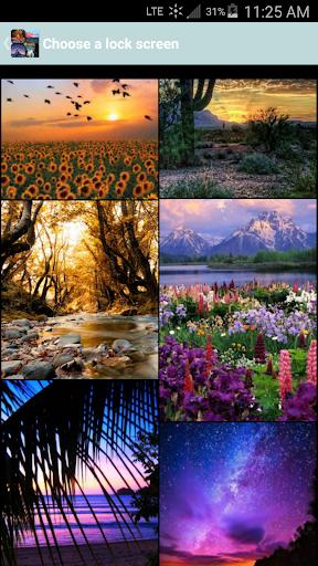 Nature Lock Screens