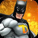 Grand Bat Superhero Flying Assault Rescue Mission