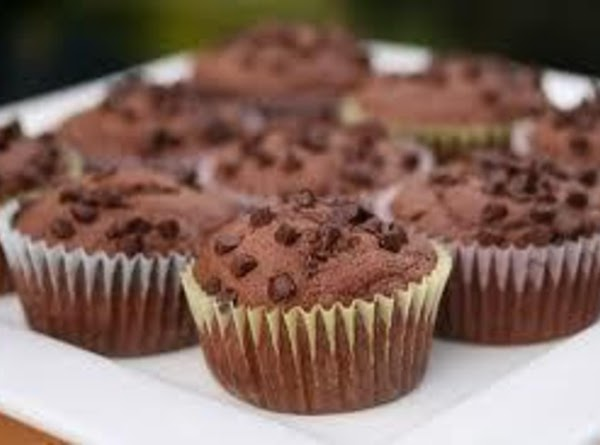 Chocolate Chocolate Chip Muffins Recipe