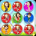 Las niñas burbuja SNSD icon