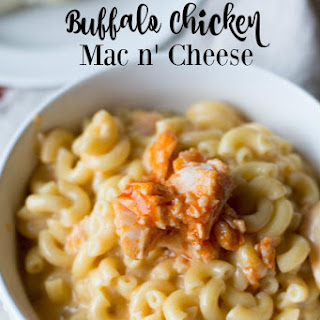 Buffalo Chicken Mac n' Cheese