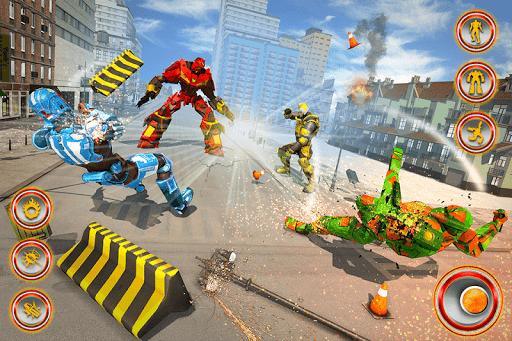 Flying Dragon Robot Car - Robot Transforming Games 2.5 screenshots 5