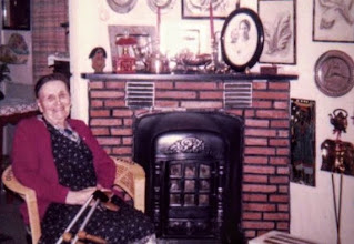 Photo: Thea in 1974 photographed by my mother in the small house at Oynaa
