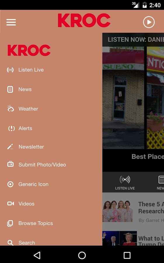 106.9 KROC - Rochester #1 Hits- screenshot