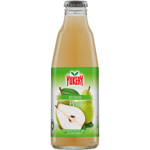 Jugo Yukery Pera Botella 250Ml