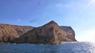Photo: die Westküste von Montaña Clara