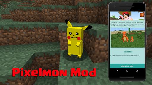 Pixelmon MCPE Mod for PC