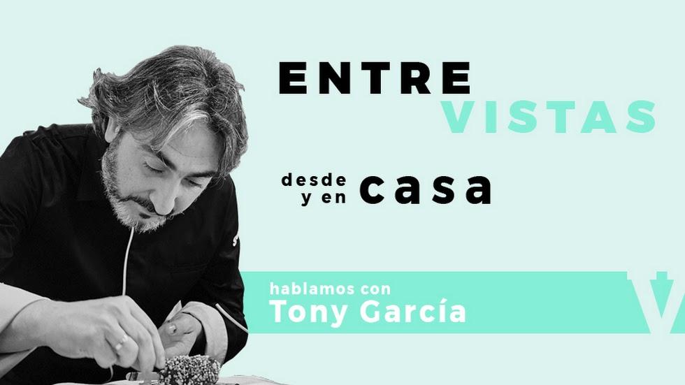 Tony García charla con LA VOZ en una EntreVista en directo.