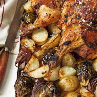 Paprika Roasted Chicken and Vegetables