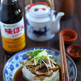Steamed Fish with Ponzu.