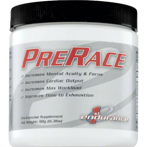 1st Endurance PreRace Drink Mix: Unflavored 20 Serving Canister