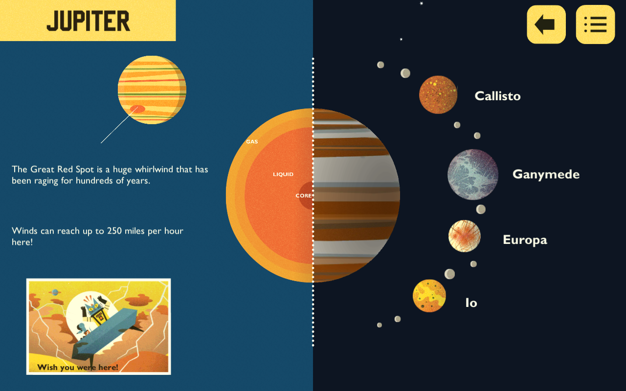 Solar System with Astro Cat- screenshot
