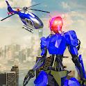 Police War Robot Superhero: Flying robot games icon