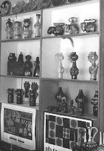 Photo: wystawa ceramiki w internacie