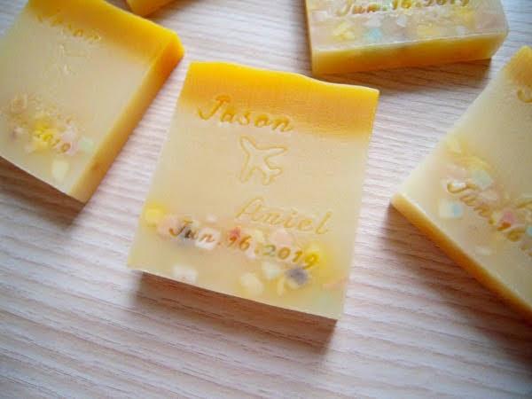 橙花米香皂