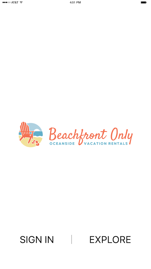 Beachfront Only Rentals- screenshot