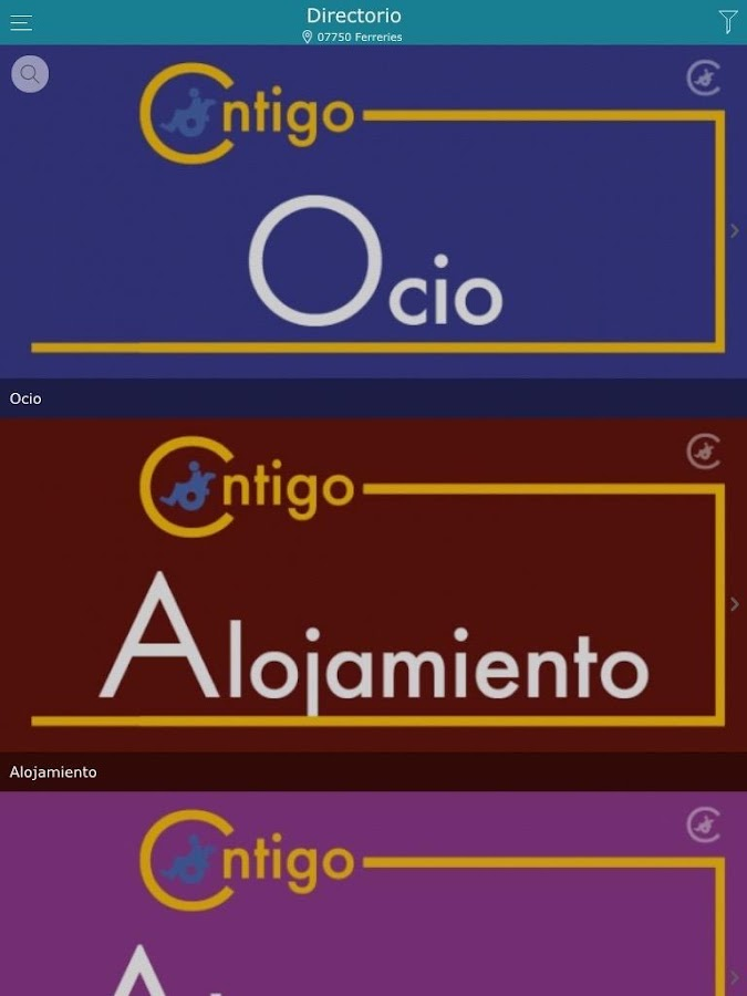 Contigo Adaptado- screenshot