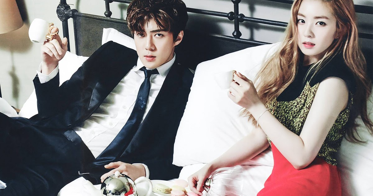 Most Fans Don T Know About Irene And Sehun S Sexy Photoshoot