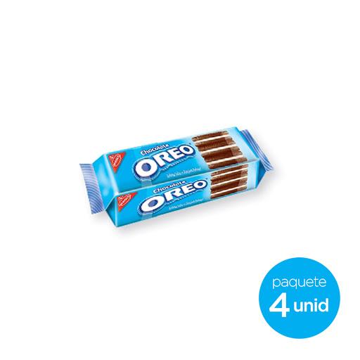 Galleta Oreo Chocolate 36Gr 4 Und