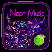 Neon Music GO Keyboard Theme 4.2 Icon